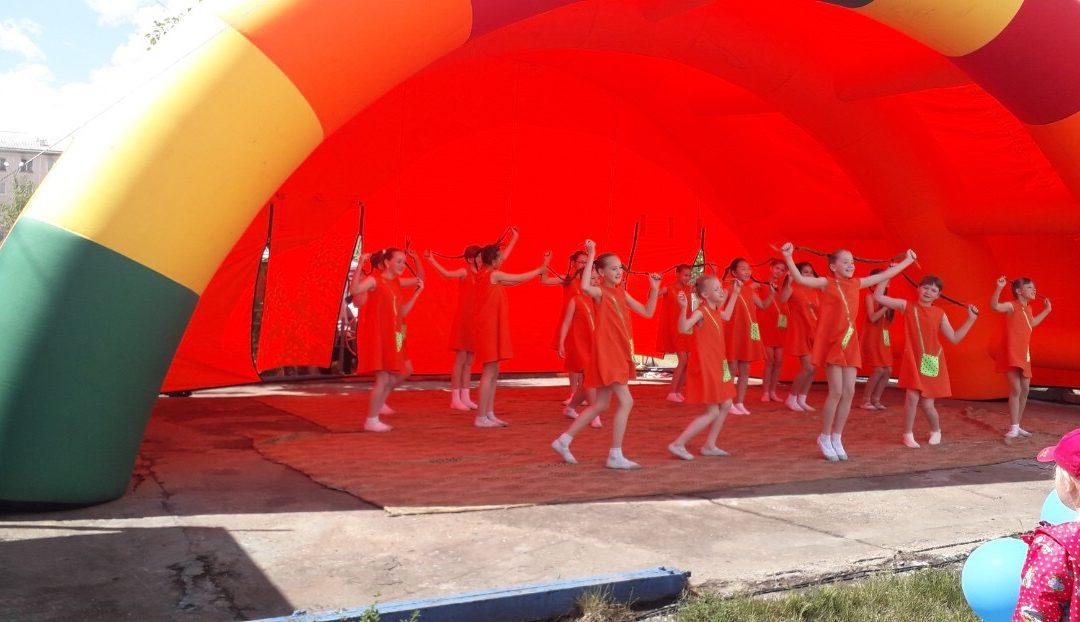 Детская квест-игра  «Веселые карусели» и  концертная программа «Разноцветное лето», посвященные Дню защиты детей