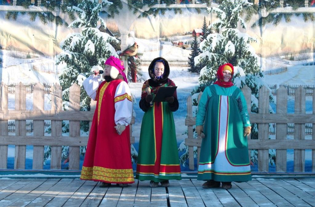Театрализованные программы «Рождество в Свирске», «Рождество в Сосновке».