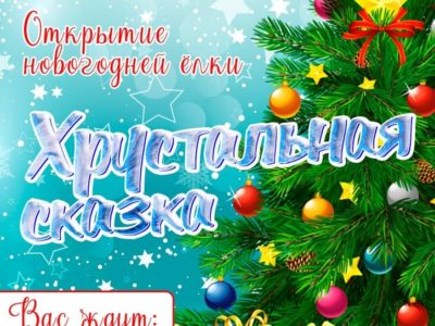 Открытие новогодней ёлки