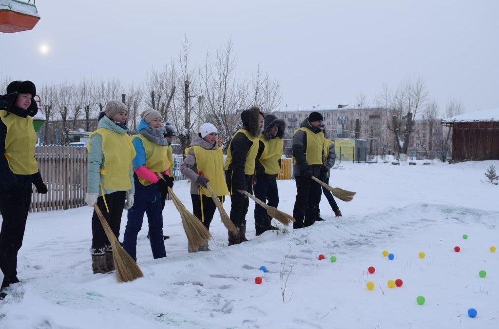 1 отборочный тур «Сани-winter»